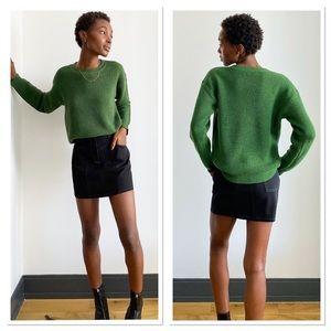 Wilfred Free Isabelli Knit Dark Green Sweater S